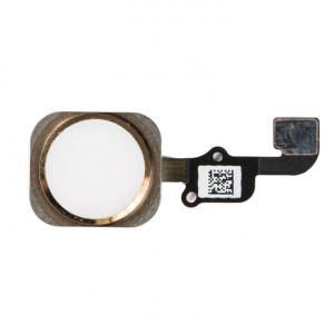 Home Button Flex Cable for iPhone 6S - Gold (No Touch ID)