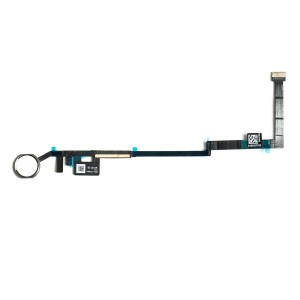 Home Button Flex Cable for iPad 5 / 6 - Silver (No Touch ID)