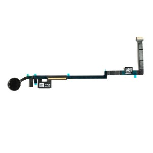 Home Button Flex Cable for iPad 5 / 6 - Black (No Touch ID)