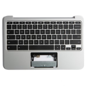 Palmrest with Keyboard (OEM Pull) for HP Chromebook 11 G3 / G4 - (Grade B)