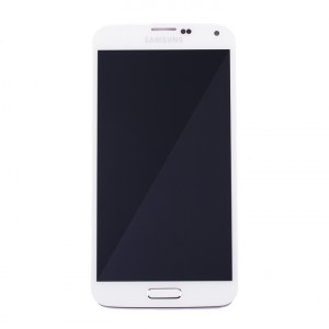OLED Display Assembly for Galaxy S5 (OEM - Service Pack) - Shimmer White