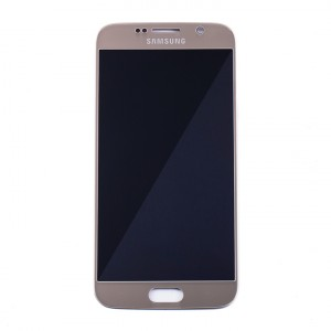 LCD & Digitizer for Samsung Galaxy S6 (PrimeParts - OEM) - Gold