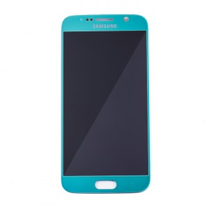 LCD & Digitizer for Samsung Galaxy S6 (PrimeParts - OEM) - Sky Blue