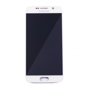 OLED Display Assembly for Galaxy S6 (OEM - Service Pack) - White Pearl