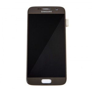 OLED Display Assembly for Galaxy S7 (OEM - Service Pack) - Gold Platinum
