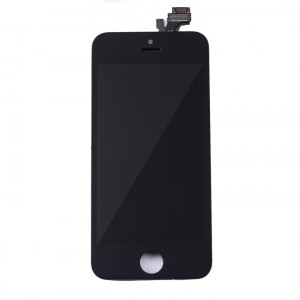 LCD & Digitizer Frame Assembly for iPhone 5 (PrimeParts - Premium) - Black