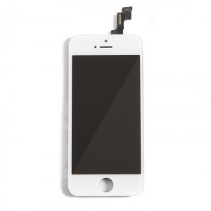 LCD & Digitizer Frame Assembly for iPhone 5S / iPhone SE (PrimeParts - Premium) - White