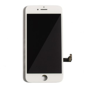 """LCD & Digitizer Frame Assembly for iPhone 7 (4.7"""") (MDSelect) - White"""