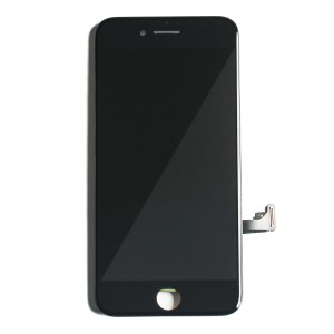 """LCD & Digitizer Frame Assembly for iPhone 7 (4.7"""") (PrimeParts - Premium) - Black"""