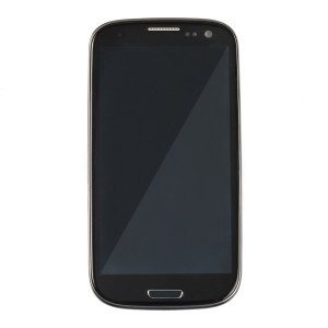 LCD & Digitizer Frame Assembly for Samsung Galaxy S3 (I747 / T999) (MDSelect - Generic) - Black