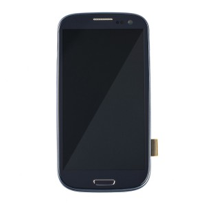 LCD & Digitizer Frame Assembly for Samsung Galaxy S3 (I747 / T999) (MDSelect - Generic) - Blue
