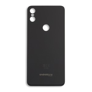 Back Glass for Moto One (Authorized OEM) - Black