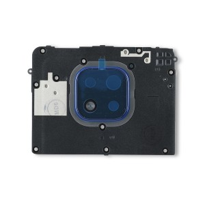 Midframe (Top Carrier) for Moto G Power (2021) (XT2117) (Authorized OEM) - Glowing Blue
