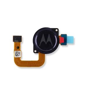 Fingerprint Scanner with Adhesive for Moto G Stylus (XT2043) (Authorized OEM) - Graphene Blue
