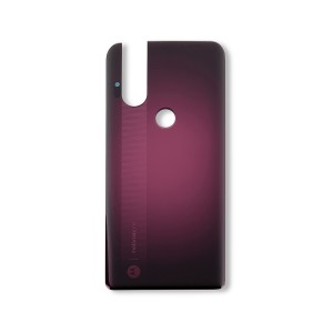 Back Cover for Moto One Hyper (XT2027-1) (Authorized OEM) - Magenta