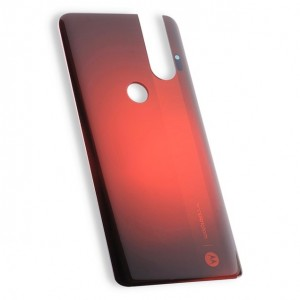 Back Cover for Moto One Hyper (XT2027-1) (Authorized OEM) - Red