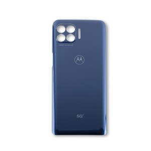 Back Cover for Moto One 5G (XT2075-1 / XT2075-2) (Verizon) (Authorized OEM) - Prussian Blue
