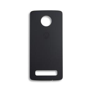 Back Glass for Moto Z4 (XT1980-3 / XT1980-4) (Authorized OEM) - Gray