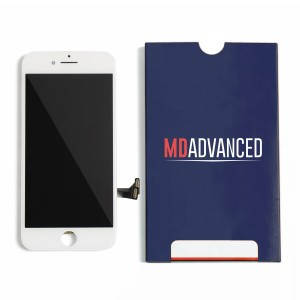 """LCD & Digitizer Frame Assembly for iPhone 7 Plus (5.5"""") (Advanced) - White"""