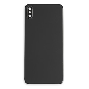 Back Glass and Rear Camera Lens Set for iPhone XS Max (Generic) - Space Gray