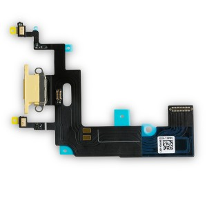 """Charging Port Flex Cable for iPhone XR (6.1"""") - Yellow"""