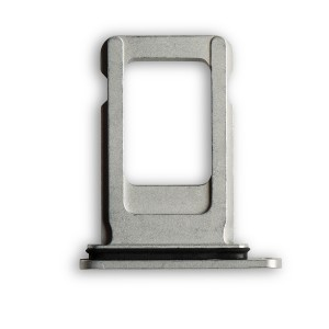 """Sim Card Tray for iPhone XR (6.1"""") - White"""