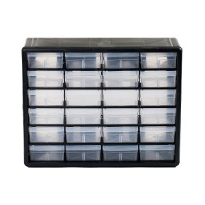 24 Drawer Storage Bin