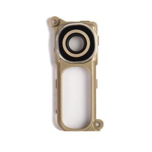 Back Camera Glass Cover & Bracket for LG G4 - Gold