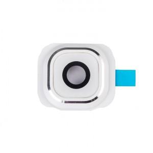Back Camera Glass Cover for Samsung Galaxy S6 Edge Plus - White