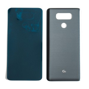 Back Cover for LG G6 (Universal - No Carrier Logo) - Silver