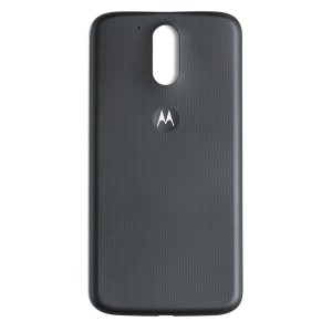 Back Cover for Motorola Moto G4 Plus / Moto G4 (XT1643 / XT1625) (Authorized OEM) - Black