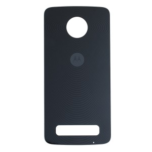 Back Glass for Moto Z Play (Authorized OEM) - Black