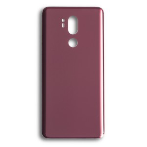 Back Glass for LG G7 ThinQ (w/ Adhesive) (Generic) - Raspberry Rose