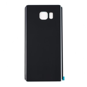 Back Glass for Samsung Galaxy Note 5 (w/ Adhesive) (Generic) - Black