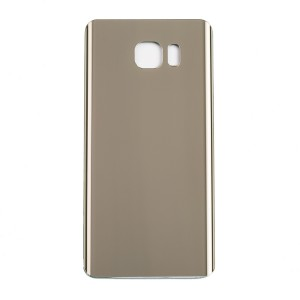 Back Glass for Samsung Galaxy Note 5 (w/ Adhesive) (Generic) - Gold