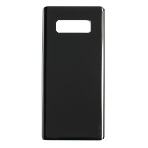 Back Glass for Samsung Galaxy Note 8 (w/ Adhesive) (Generic) - Midnight Black
