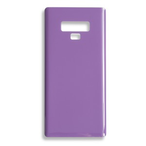 Back Glass with Adhesive for Galaxy Note 9 (GENERIC) - Lavender Purple