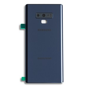 Back Glass with Adhesive for Galaxy Note 9 (Prime - OEM) - Ocean Blue