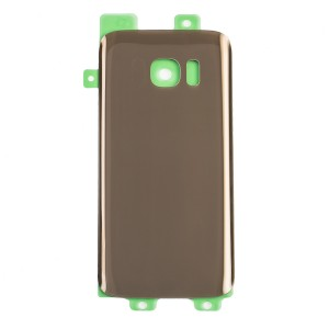 Back Glass for Samsung Galaxy S7 (w/ Adhesive) (Generic) - Gold