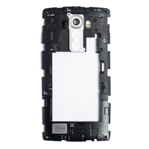 Back Housing for LG G4 (H810 / H811 / VS986 / LS991) - White