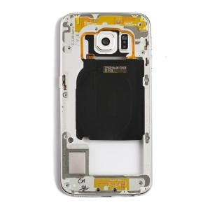 Back Housing for Samsung Galaxy S6 Edge (G925A / G925T) - White