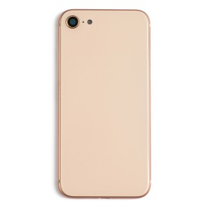 Back Housing w/ Back Glass for iPhone 8 (Generic) - Gold