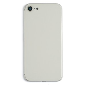 Back Housing w/ Back Glass for iPhone 8 (Generic) - Silver