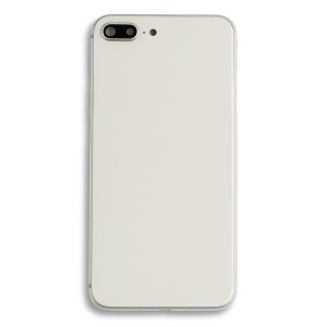 Back Housing w/ Back Glass for iPhone 8 Plus (Generic) - Silver