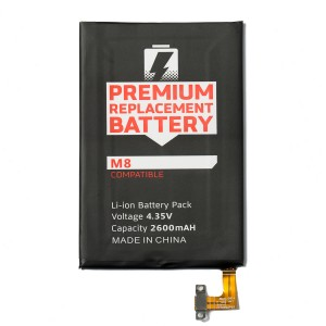 Battery for HTC One M8 (MDSelect)