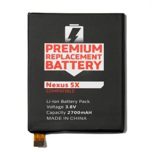 Battery for LG Google Nexus 5X (MDSelect)