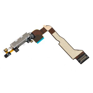 Charging Port Flex Cable for iPhone 4 CDMA - White