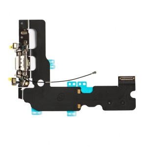 """Charging Port Flex Cable for iPhone 7 Plus (5.5"""") - White"""