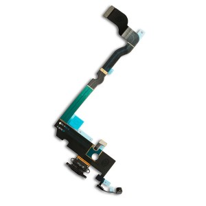 """Charging Port Flex Cable for iPhone XS Max (6.5"""") - Space Gray"""