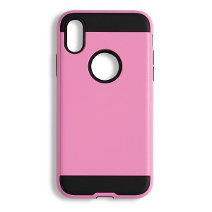 """Fashion Style Case for iPhone XS (5.8"""") - Pink"""